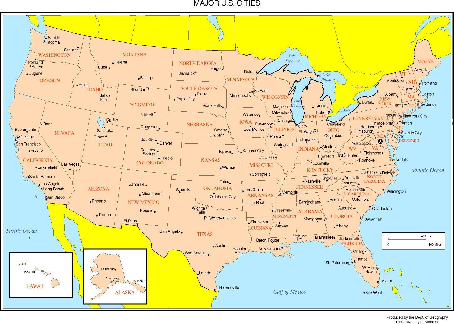 Os Storre Byer Kort Kort Over Os Storre Byer Det Nordlige