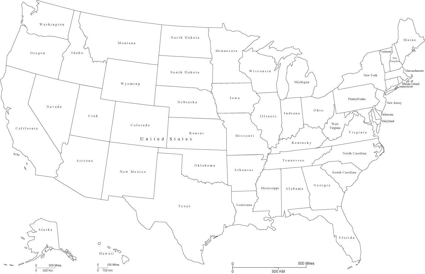 Sort Og Hvid Os Kort Os Kort Sort Og Hvid Nordlige Amerika